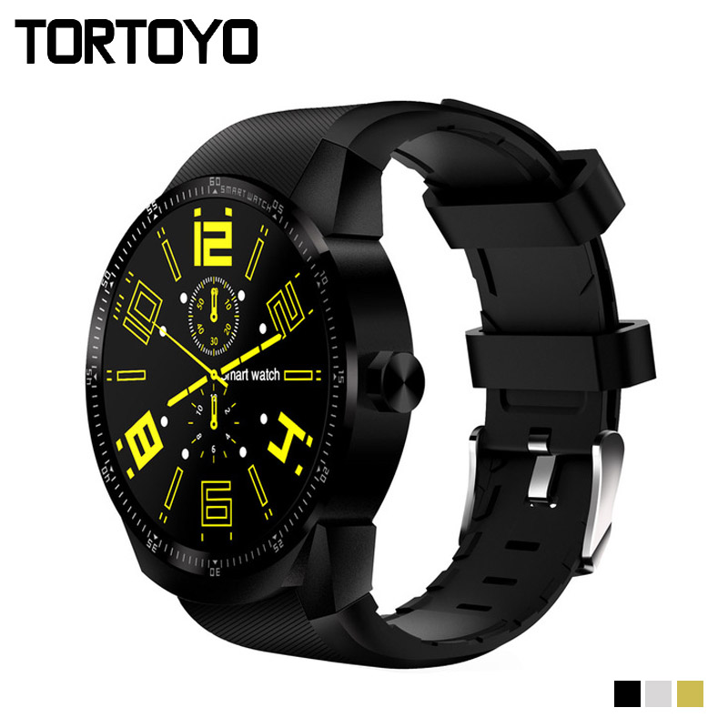 TORTOYO 3G Smartwatch K98H Smart Watch Phone Android 4.1 OS GPS Fitness Tracker WiFi Bluetooth SIM Heart Rate For iPhone Android kktick d6 smartwatch phone android 5 1 heart rate monitor smart watch wifi gps bluetooth 4 0 1 63 inch