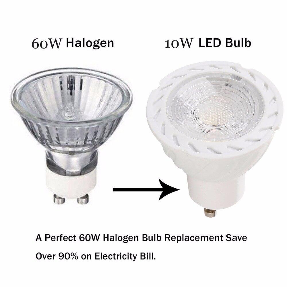 ᐂdimmable Led Gu10 Bulb Led Spotlight Lamp Gu10 3000k 4000k 6500k