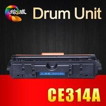Compatible CE314A Unidad de Tambor de Imagen para HP Color LaserJet Pro CP1025 314A 1025 CP1025nw M175a M175nw M275MFP impresoras