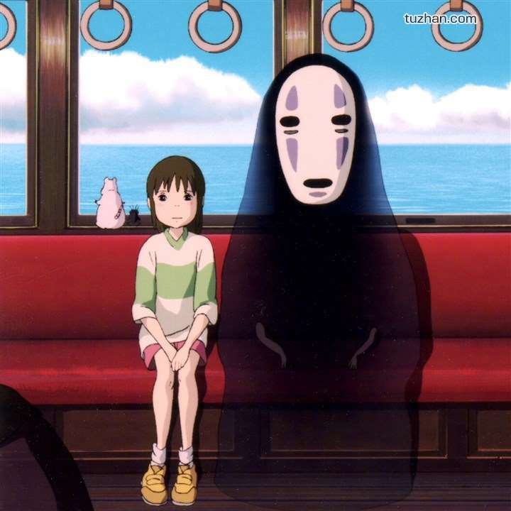 Adult Mens/Childrens Anime cosplay Spirited away no face man costume Halloween cosplay costume Cloak+mask+gloves 3 piece suit