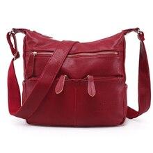 цена на 2016 Fashion Women Messenger Bags COMPOSITE GENUINE LEATHER Women's Handbag Women Bag Vintage Ladies Tote Crossbody Shoulder Bag