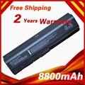 8800 mah bateria do portátil para hp dv4 dv5 dv6 g71 g50 g60 g61 g70 dv6 dv5t hstnn-ib72 hstnn-lb72 hstnn-lb73 hstnn-ub72 hstnn-ub73