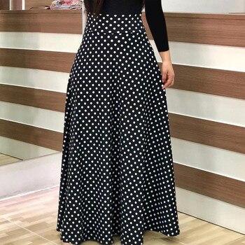 Plus Size 2019 Fashion Women dress Long Sleeve Printed patchwork Elegant Vintage Maxi Dress Ladies summer Casual vestido floral 5