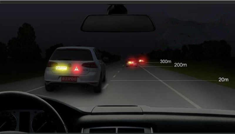 4 pièces De Porte De Voiture Autocollants Signe OUVERT Sécurité Bandes Réfléchissantes pour Opel Mokka zafira b corsa d astra h g insignes vectra Accessoires