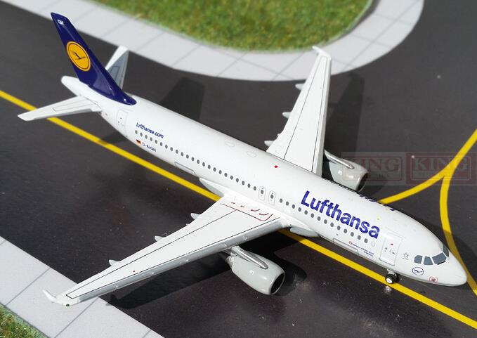 GeminiJets GJDLH1290 A320 D-AIZA 1:400 Lufthansa commercial jetliners plane model hobby gjcca1366 b777 300er china international aviation b 2086 1 400 geminijets commercial jetliners plane model hobby