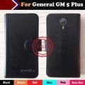 Горячая! генеральный GM 5 Плюс Случае Заводская Цена 6 Цветов, Посвященная Эксклюзивная Кожа Для GM 5 Плюс Крышка Телефона + отслеживания