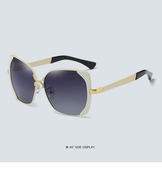 Female polarized elegant butterfly brand designer lady polarized sunglasses female Oculos De Sol KINGSEVEN shadow s'40 19