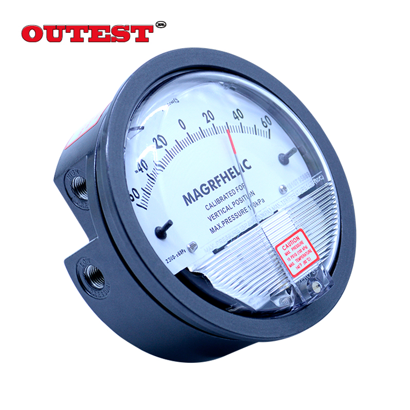 Tools : High precision Air differential pressure gauge vacuum Manometer micro pressure gauge Measuring range 0-30PA 0-30KPA for choice