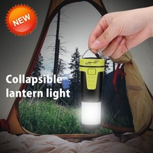 цены PANYUE Retractable Camping Lights LED Flashlight Outdoor Portable Lantern Mini Tent Light Emergency Lamp Pocket Torch