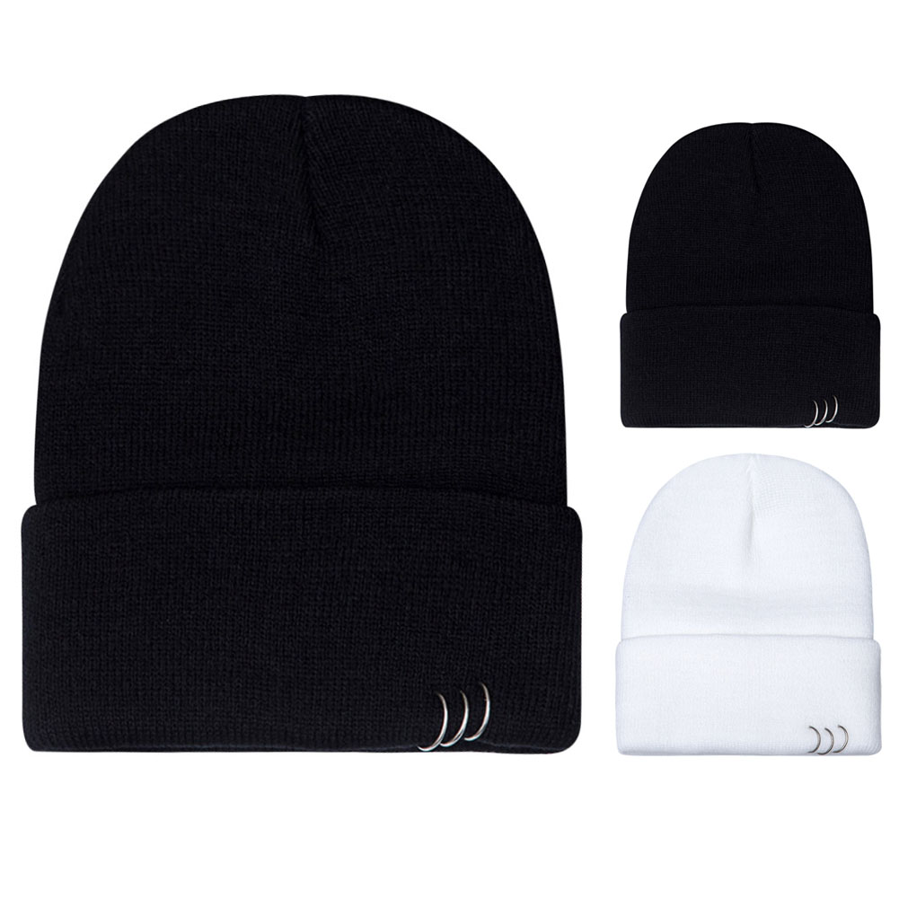 2017 Unisex Fashion Unisex Women Men Winter Hat beanies bonnet femme Slouch Baggy Hip Hop Knit Crochet Cap Beanie