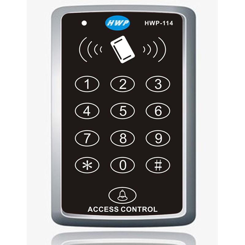 Keypad Access Control RFID Proximity Door Access Control System with master cards function 13.56MHZ 10 cards free