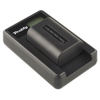 PROBTY NP FV50 NP FV50 Camera Battery LCD USB Charger For SONY HDR CX390 290E PJ510