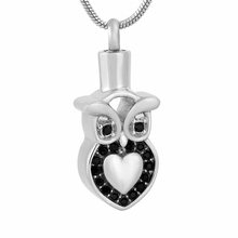 Owl Urn Necklace