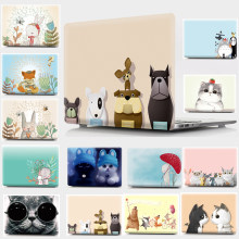 Coque rigide à imprimé Animal mignon pour Apple Macbook Air Pro Retina 11 12 13 15 coque pour Mac Pro 12 13.3 15.4(China)