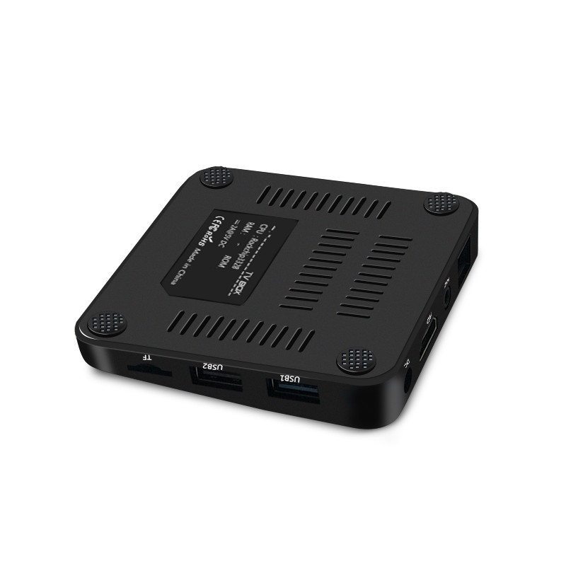 RECALLION MX10 Mini TV Box RK3328 Quad Core Android 9 0 2GB RAM 16GB ROM HDTV Smart TV Set Top Box 4K 3D WiFi H 265 Media Player in Set top Boxes from Consumer Electronics