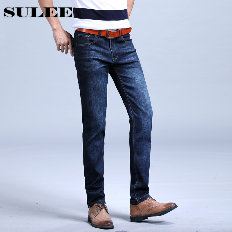SuLEE brand jeans 2017 Cotton  fashion designer High Qualtiy Men Jeans denim pants  jeans wholesale High quality jeans men s cowboy jeans fashion blue jeans pant men plus sizes regular slim fit denim jean pants male high quality brand jeans