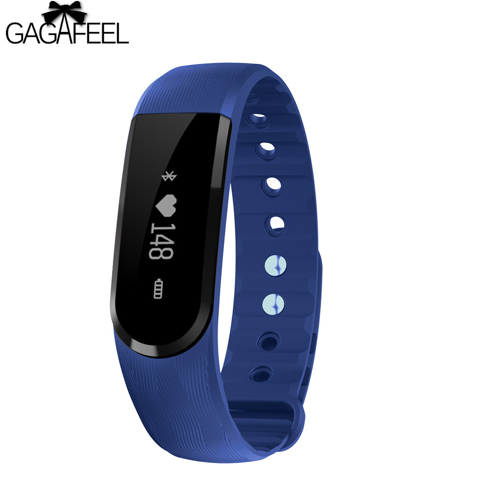 GAGAFEEL Fitness Tracker Smart Watch for  for IOS Android Woman Man Heart Rate Monitor Wristband Bluetooth Sport Bracelet Watch leegoal bluetooth smart watch heart rate monitor reminder passometer sleep fitness tracker wrist smartwatch for ios android