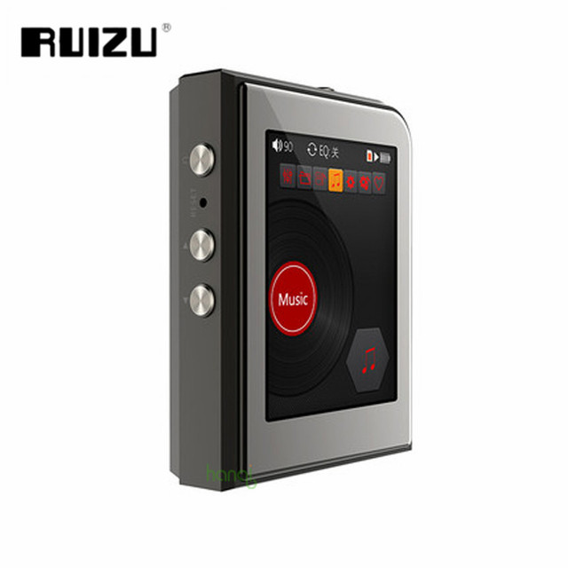 RUIZU A50 HD Hard Lossless DSD256 Mini Sport MP3 Player Hifi Music Support 128G TF Card DSP+DAC Turntable With 2.5 Inch Screen