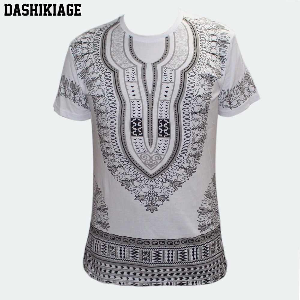 Mens Ethnic Dashiki Shirt African Clothing Hippie Top Caftan Boho Vintage Blouse