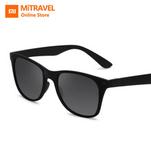 Xiaomi TS TR90 Sunglasses  Nylon Polarized TAC Lens  Protection Classic Frame Design For Women Men Black xiaomi ts uv proof nylon polarized aviator sunglasses