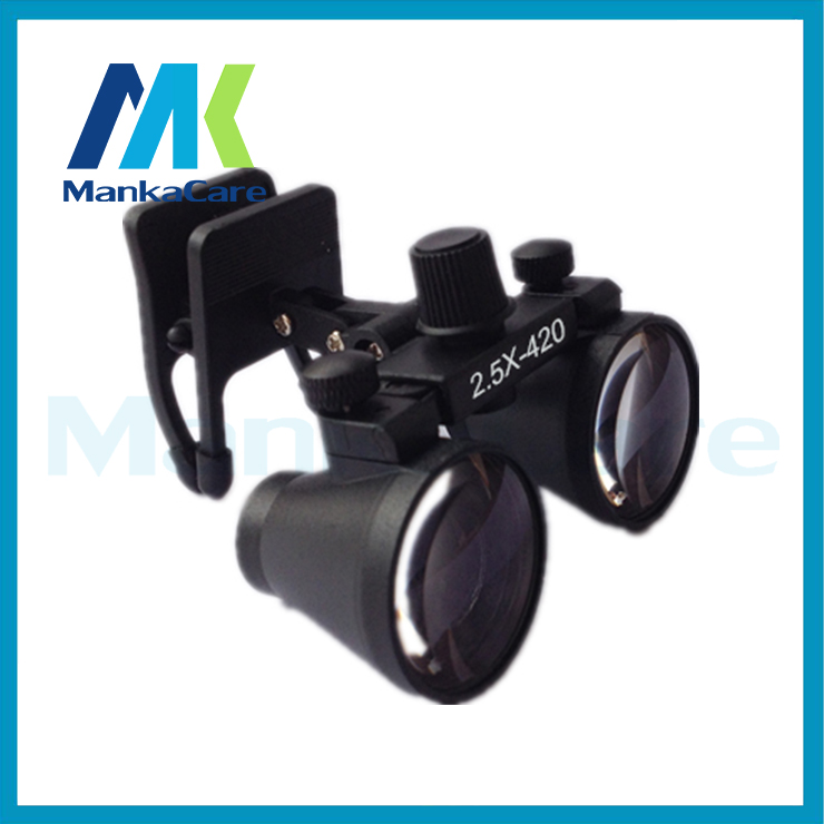 2.5 times Dental Surgical Loupe Magnifier, binocular magnifier Free shipping free shipping dental loupes 6 times 5 times 4 times doctor s surgery magnifying glass surgical orthopedic spine