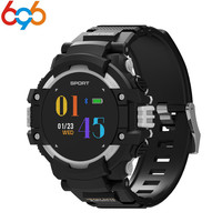 696 GPS smartwatch F7 with heart rate monitor compass altitude barometer IP67 waterproof smart watch for iOS android PK L19 y1 y