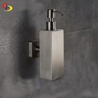 Anju 200ml Stainless Steel Liquid Soap Dispenser Kitchen Bathroom Lotion Pump Bottle Multifunction Sink Detergent Product