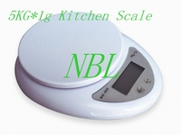 Free Shipping 5000g 1g 5kg Food Diet Postal Kitchen Digital Scale Balance Weight Weighting LED Scales