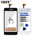 4.5'' A+++ Touch Screen Digitizer For Explay Craft Touchscreen Lens Sensor Panel Front Glass + 3M Sticker Adhesive Logo