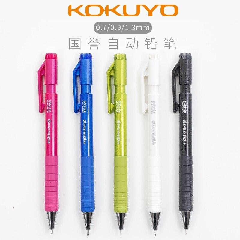 JAPAN KOKUYO TypeS Metal Color Press the Mechanical Pencil 0.7/0.9/1.3 Active Pencil 1PCSJAPAN KOKUYO TypeS Metal Color Press the Mechanical Pencil 0.7/0.9/1.3 Active Pencil 1PCS