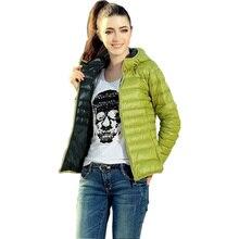 Abrigo de invierno para mujer, abrigo de otoño, chaqueta con capucha, fino caramelo, Color algodón, acolchado, ropa de mujer, Vestidos GZ126