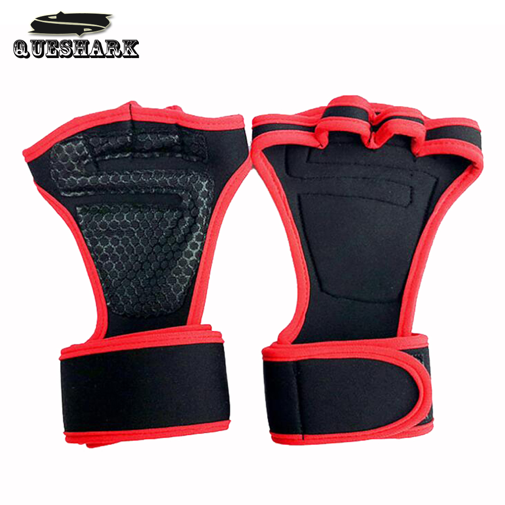 Anti-slip Half Finger Sports Fitness Weight Lifting Gym Gloves Training Fitness Bodybuilding Workout Wrist Wrap Exercise Gloves