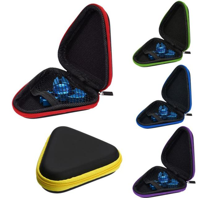 Fidget Spinner with Triangle Case