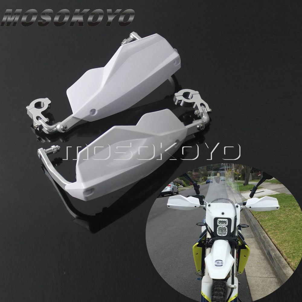 white motocross 7 8 1 1 8 handguard for ktm exc 300. Black Bedroom Furniture Sets. Home Design Ideas