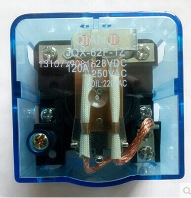 JQX-62F 1Z 120A 12VDC Coil Power High Power Relay jqx 62f 120a coil high power relay ac 220v