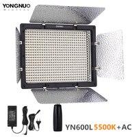 YONGNUO YN600L YN600 L LED Panel Light 5500K Photographic Studio lighting Phone APP Remote Control for SLR Camera Camcorders