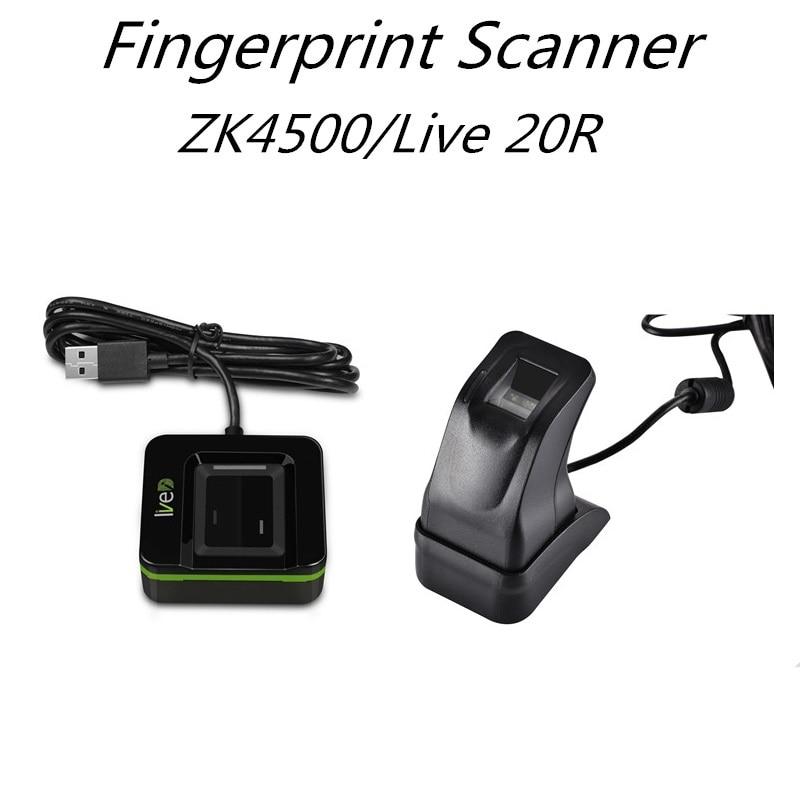 SZBestWell Fingerprint Reader Live 20R USB Biometric Fingerprint Scanner Sensor Live 20R SLK20R ZKT ZK4500 Free