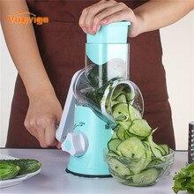 VOGVIGO Manuel Mandolinenschneider Edelstahl Gemüse Frucht-schneidmaschine Mutter Kraut Multifunktionale Fleischwolf Reibe Für Küche