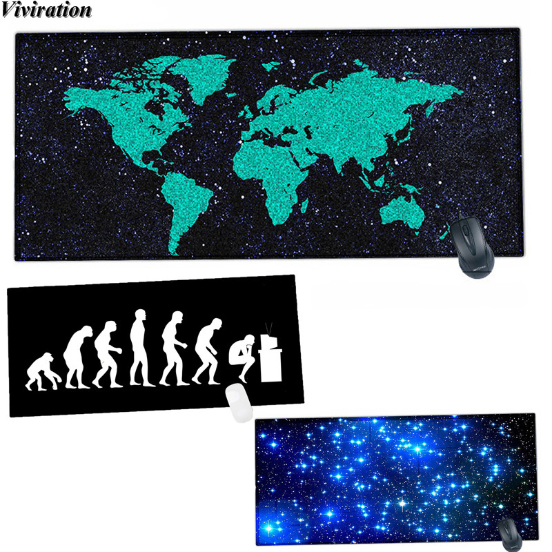 Viviration Computer PC Mouse Pad 900*400*2mm Large Gaming Mouse Mat Pad High Quality Customized Rubber Soft Laptop Mousepad Mat ...