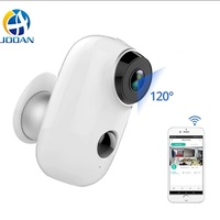 Outdoor Camera Wireless Rechargeable Battery IP Wifi Camera 720P Outdoor Indoor Weatherproof IP65 CCTV Security Camera Wide View