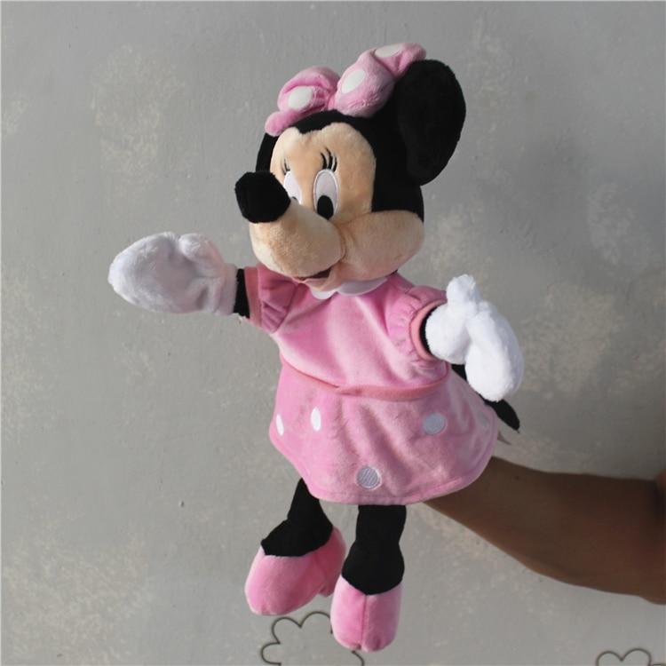 1 pieza Marioneta Mickey Mouse Donald Pato Minnie mouse Tigger Eeyore - Muñecas y peluches - foto 6