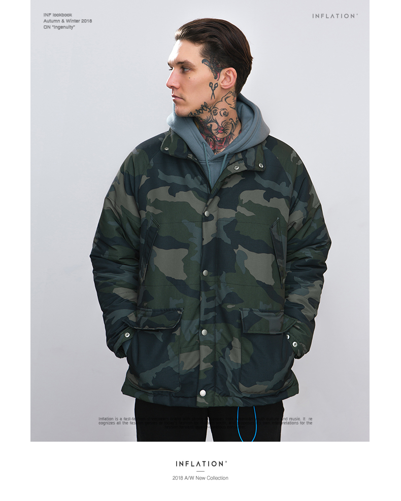 Down Jacket camouflage