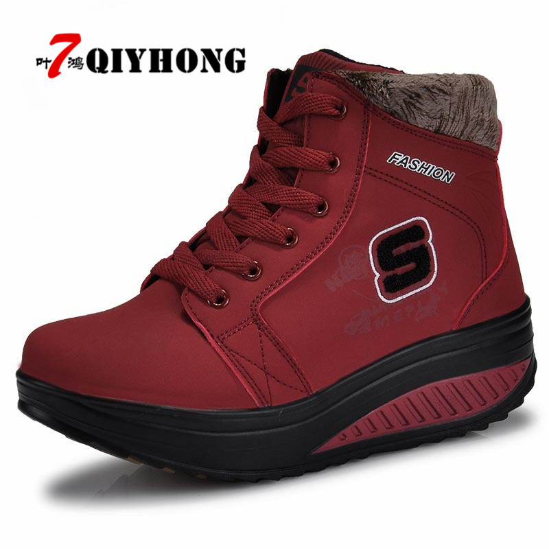 New Listinghigh Quality Fashion Warm Snow Boots 2018 Heels Winter Boots New Arrival Women Ankle Boots Women Shoes shoes woman taima brand new arrival winter fashion women boots warm fur ankle snow boots black ladies style winter women shoes page 2