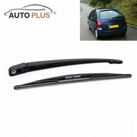 New 16 9in Car Window Windscreen Wiper Blade Rear Wiper Arm Amp Blade Complete Set For