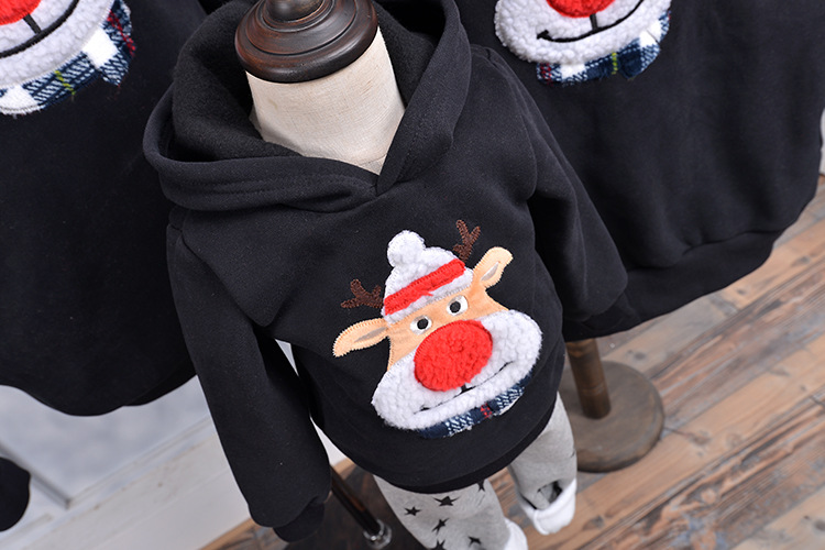 Family son outfits sweater 9