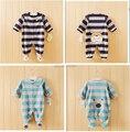 Envío gratis alta calidad ropa de bebé recién nacido de manga larga babysuit caliente venta para niños ropa interior