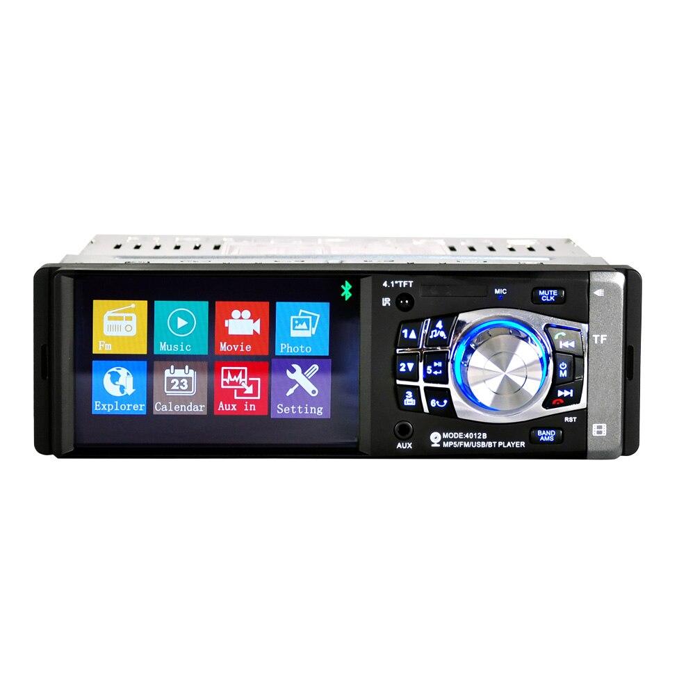 Unidad Central 12 V AUTO ESTÉREO FM RADIO BLUETOOTH MP3 Usb Sd Aux Fm 4x 60 W 1DIN