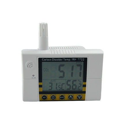 High Precision Air Quality Monitor CO2 Gas Detector Temperature Meter Humidity Meter Carbon Dioxide Tester Gas Analyzer portable handheld carbon dioxide detector precision co2 meter high quality gas detector tester