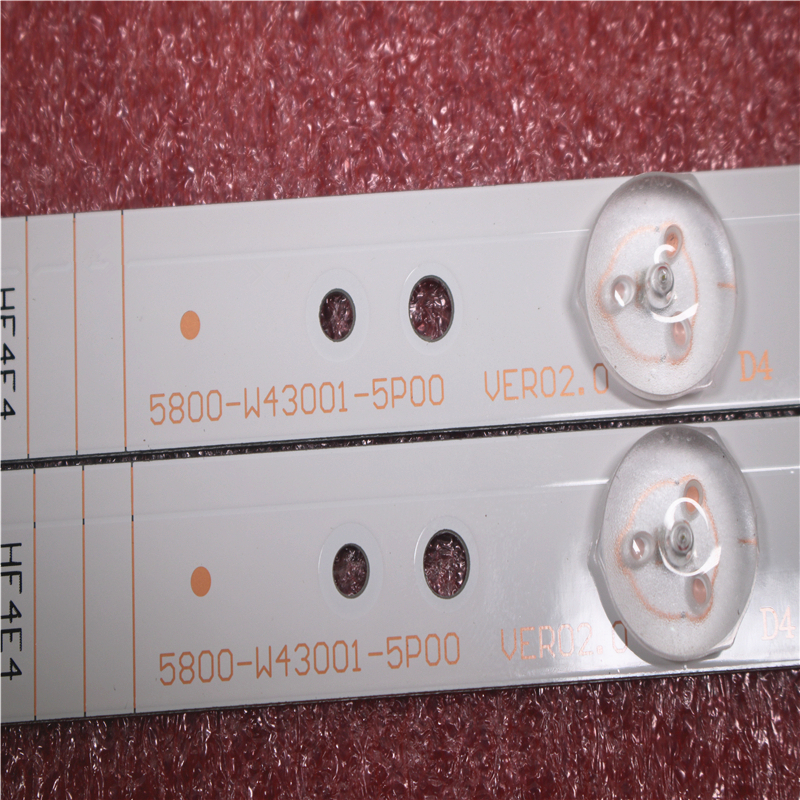 LED Backlight For 43E3000 43E3500 43E6000 5835-W43002-2P00 5800-W43001-5P00 VER01.00 02K03177A LG Screen RDL430WY LD0-10D