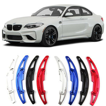 Savanini Alloy Add-On Steering Wheel DSG Paddle Shifters Extension For BMW M2 /M3/M4/M5/M6 2014-2018